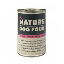 Nature Dog Food |Natvoer voor honden | Hert, Rendier, Wortel en Cranberry