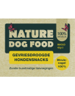 Nature Dog Food Gevriesdroogde Hondensnacks 100% Struisvogel